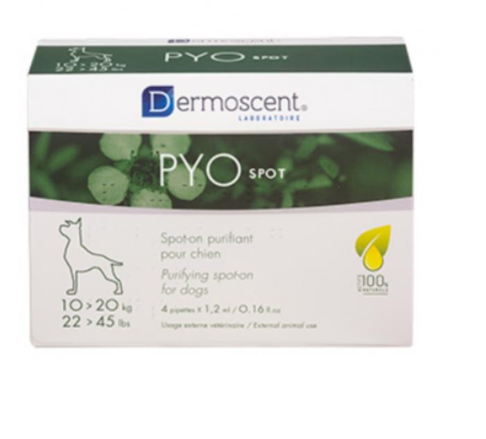 Dermoscent Pyo Spot Caine 10-20 kg - 4 pipete [0]