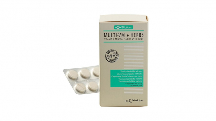 Diafarm Vitamine Minerale cu Plante, 90 tablete 0