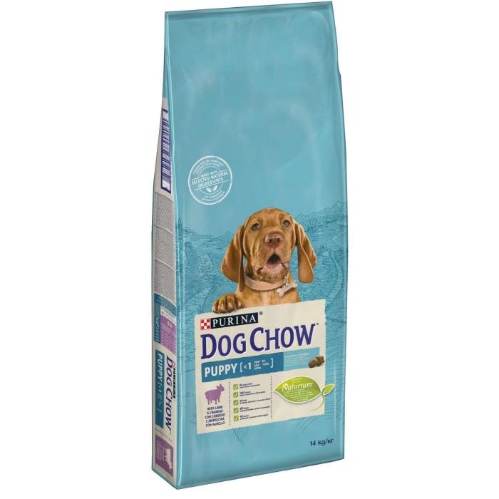 Dog Chow Puppy cu Miel, 14 kg [0]