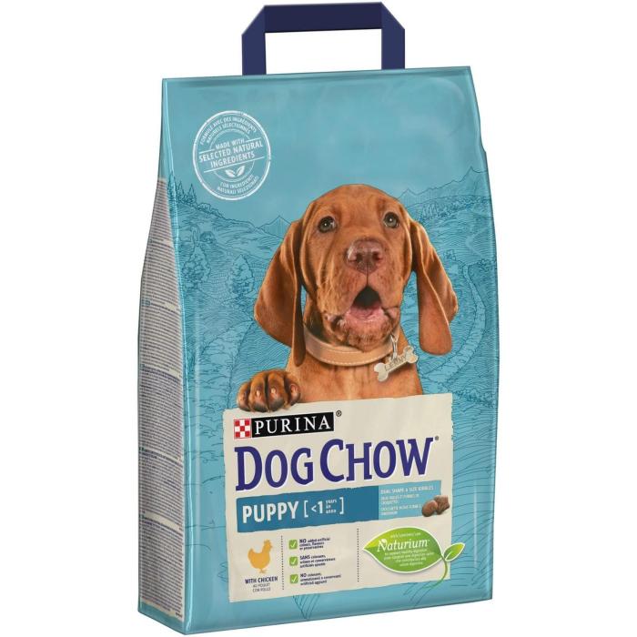 Dog Chow Puppy cu Pui, 2.5 kg [0]