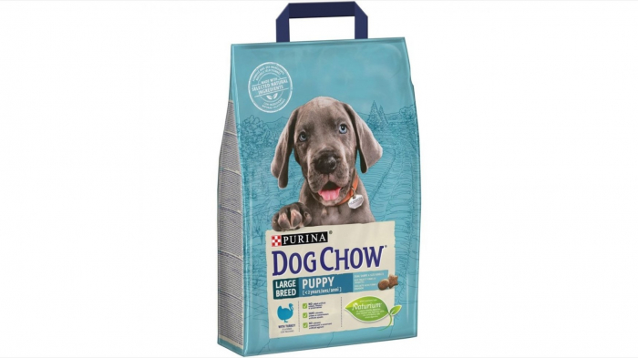 Dog Chow Puppy Large Breed cu Curcan 2.5 kg 0