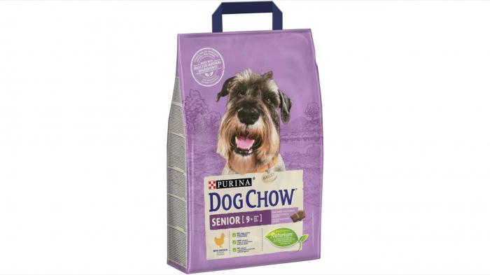 Dog Chow Senior cu Pui 2.5 kg 0