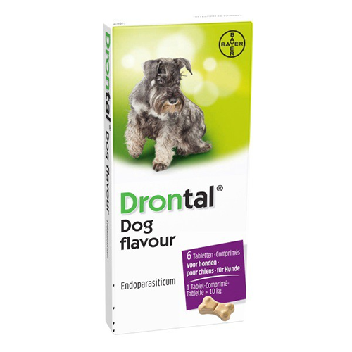 Drontal Dog Flavour, Cutie 6 tablete 0