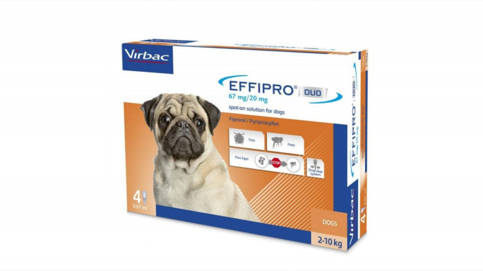 Effipro Duo Dog S 67 mg (2 - 10 kg), 4 pipete [0]