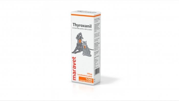 Thyroxanil 600 μg, 100 comprimate [0]