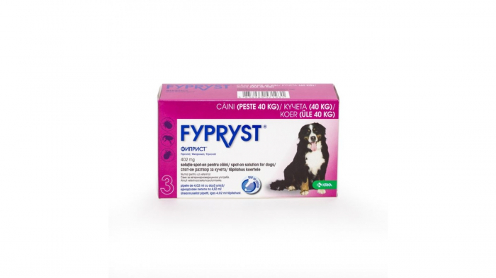 Fypryst Caine XL 402 mg (40 - 60 kg), 3 pipete [0]