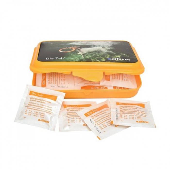 DIA-TAB ameliorarea tulburarilor gastro-intestinale, ALFAVET, 20 tablete [0]