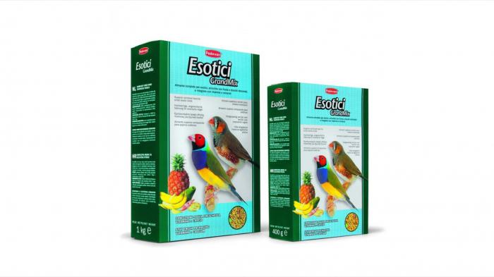 Hrana pentru pasari Padovan GrandMix Exotice 400 g 0