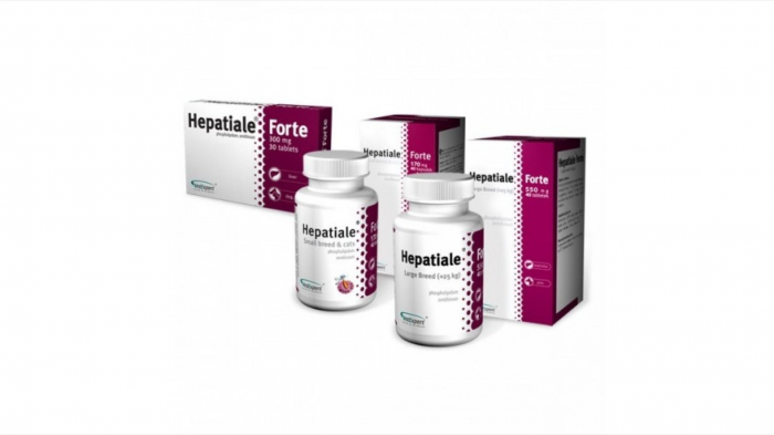 Hepatiale Forte Large Breed 550 mg - 40 Tablete 1