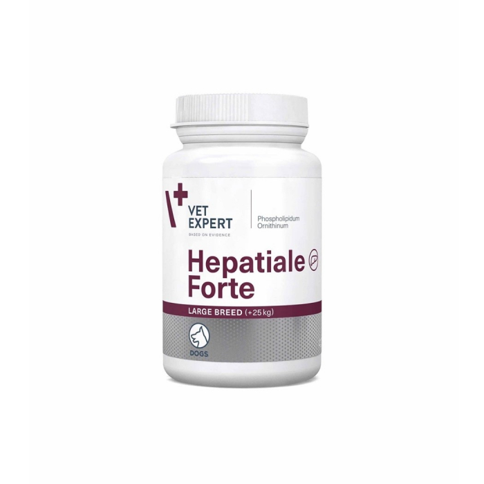 Hepatiale Forte Large Breed 550 mg - 40 Tablete 0