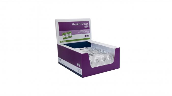 Hepa-T-Detox, blister - 10 Tablete 0