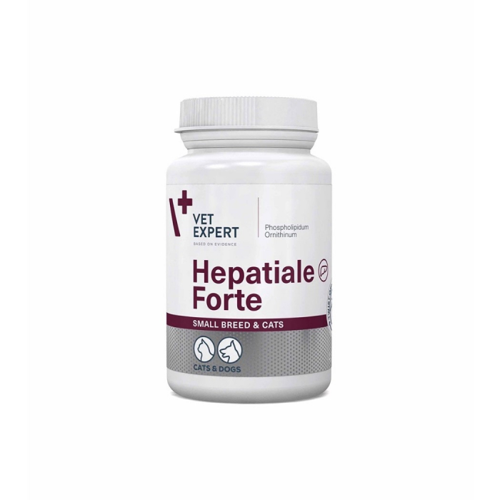 Hepatiale forte small breed & cats 170 mg - 40 capsule twist off [0]