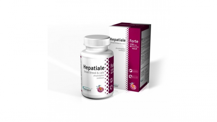 Hepatiale forte small breed & cats 170 mg - 40 capsule twist off 1