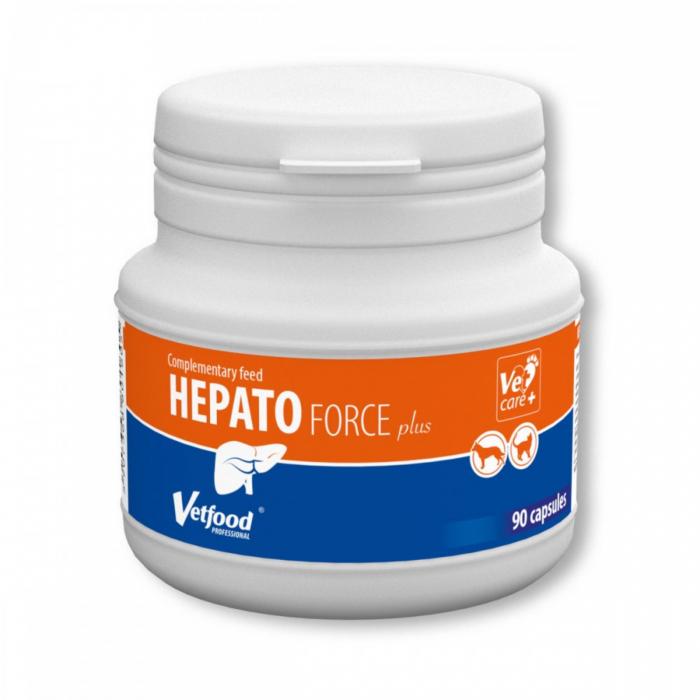 Hepato force Plus - Vet Food, 90 capsule [0]