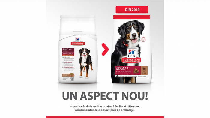 Hill's SP Adult Medium Breed hrana pentru caini cu miel si orez, 14 kg [6]