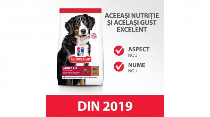 Hill's SP Adult Medium Breed hrana pentru caini cu miel si orez, 14 kg [2]
