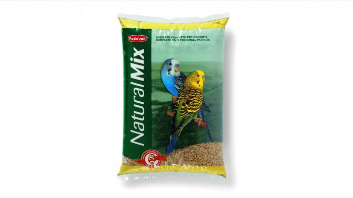 Hrana pentru perusi Padovan Natural Mix 1 kg 0