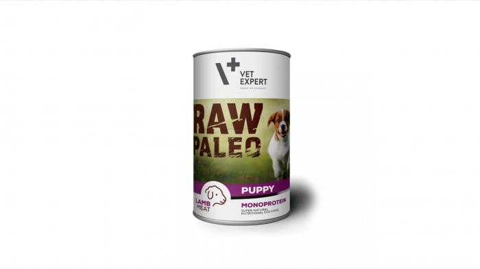 Raw Paleo, hrana umeda pentru Puppy, Miel 400 g 0