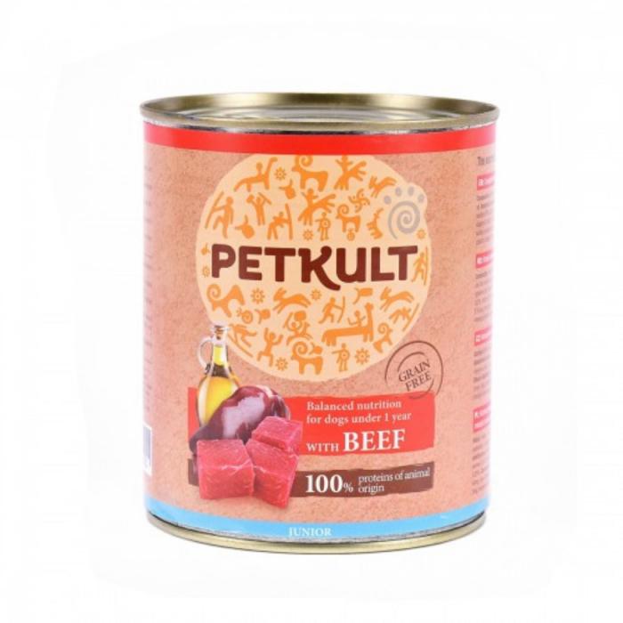 Hrana umeda Petkult Junior cu Vita 800 g 0