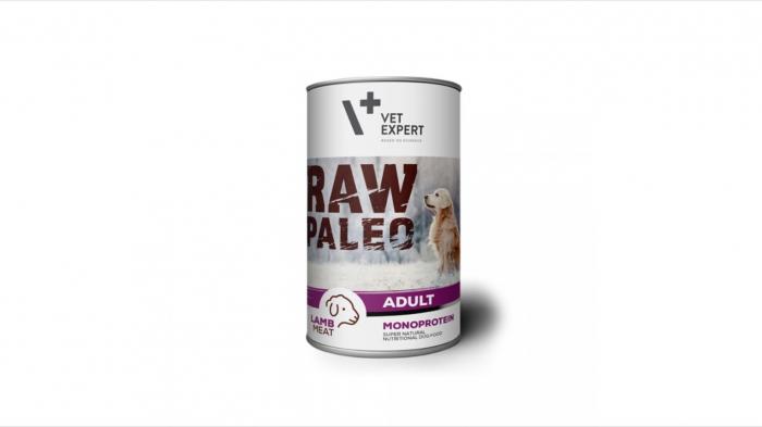 Hrana umeda, RAW PALEO Light, adult, miel, 400 g 0