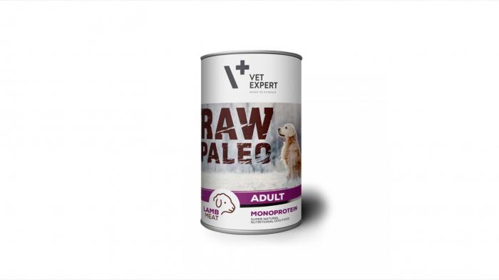 Hrana umeda, RAW PALEO, adult, carne de miel, 400 g [0]