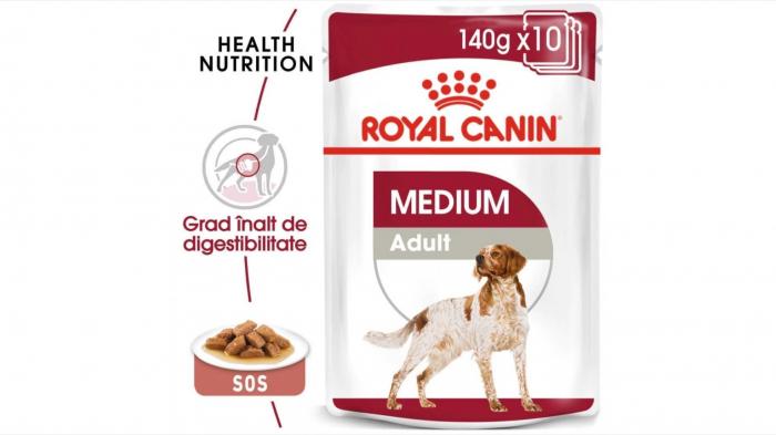 Royal Canin Medium Adult, 10 x 140 g [0]