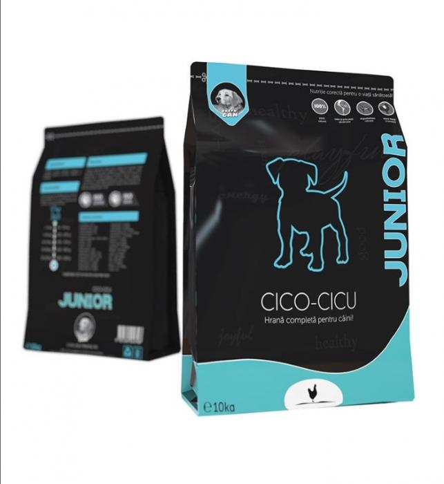Hrana Uscata Extru-Can Cico-Cicu Junior, 10 kg 0
