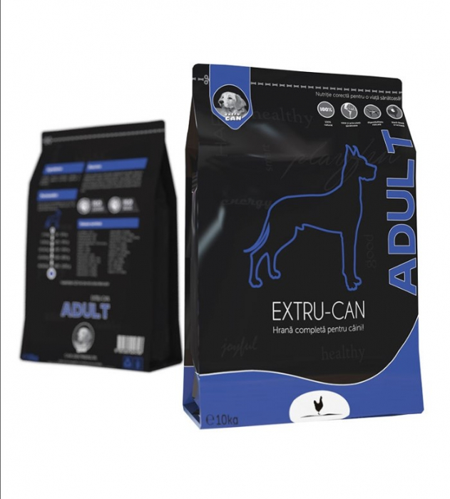 Hrana Uscata Extru-Can Adult, 10 kg [0]