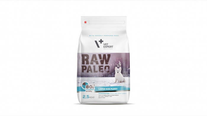 Hrana Uscata, Raw Paleo Large Puppy 2.5 kg 0