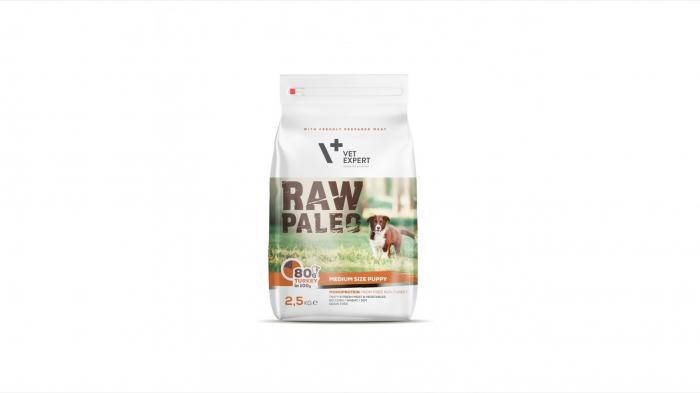 Hrana Uscata, RAW PALEO Medium Puppy 2.5 kg 0