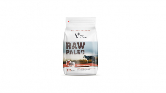 Hrana Uscata, Raw Paleo Medium Adult 2.5 kg 0