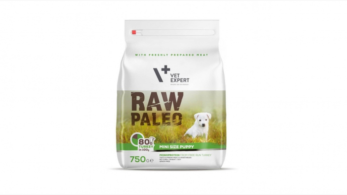 Hrana Uscata, Raw Paleo Mini Puppy 750 g 0