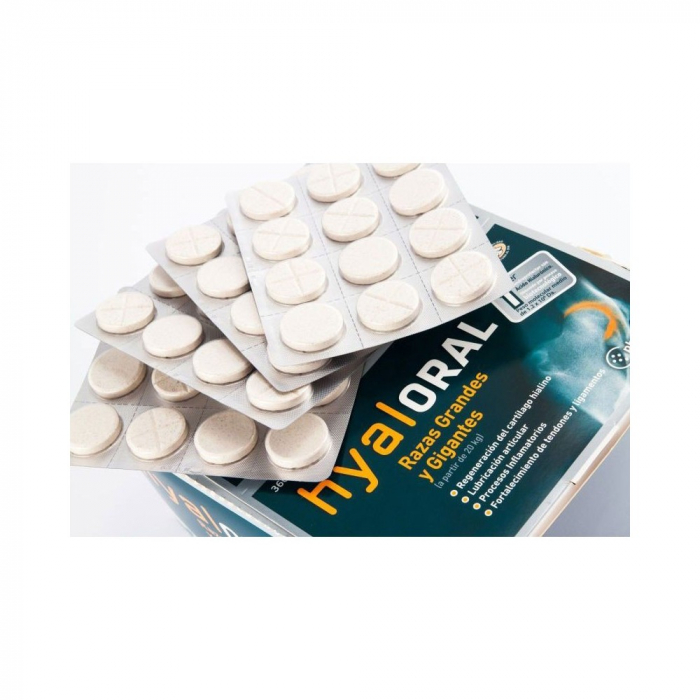 Hyaloral Large Breed 12 tablete/blister 2