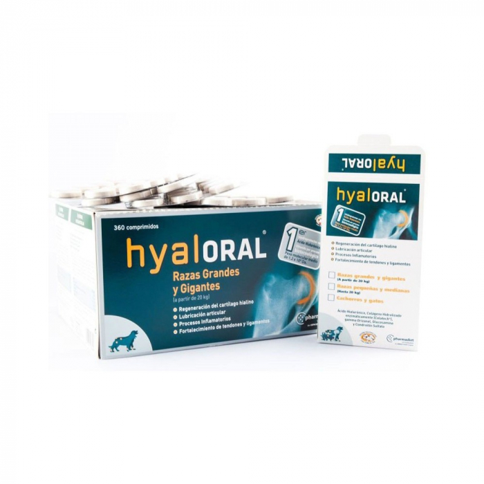 Hyaloral Large Breed 12 tablete/blister 1