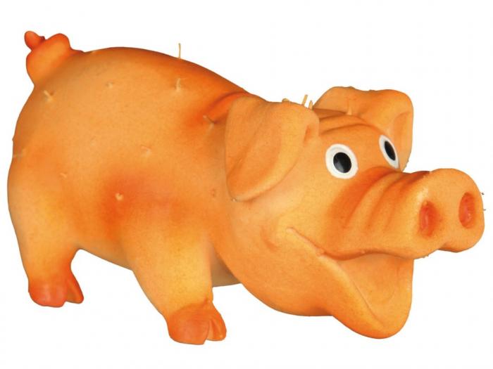Jucarie Porc Latex cu Tepi 10 cm cu Sunet 2