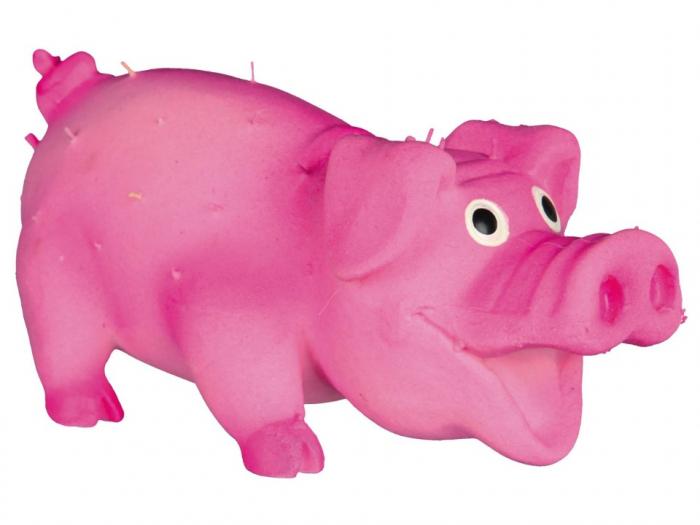 Jucarie Porc Latex cu Tepi 10 cm cu Sunet 0