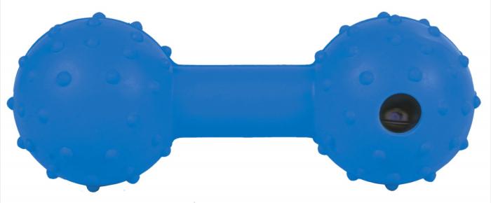 Jucarie Os cu Clopotel Cauciuc Natural 12.5 cm 2