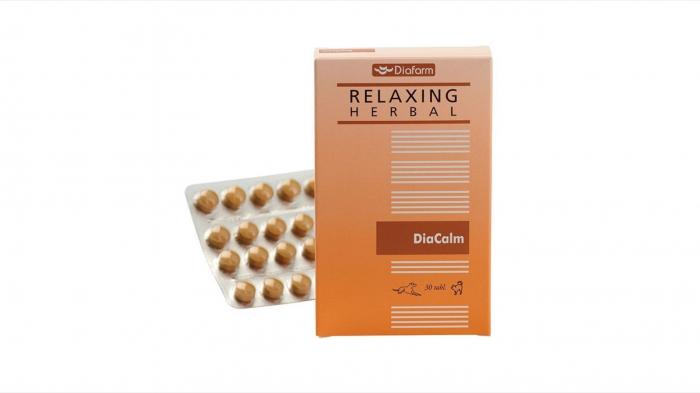 Diafarm Diacalm, 30 comprimate [0]