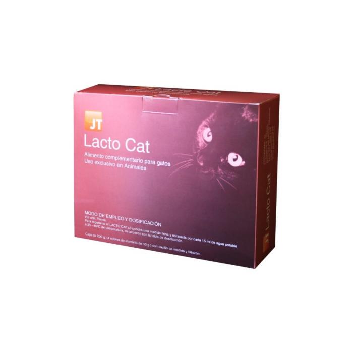 JT- LACTO CAT Lapte praf pentru pisici 4 x 50 grame - Biberon + tetine incluse 0