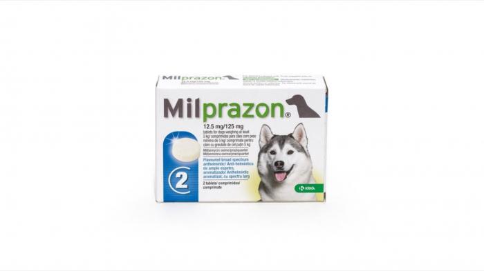 Milprazon Dog 12.5 / 125 mg (> 5 kg), 1 tableta 0