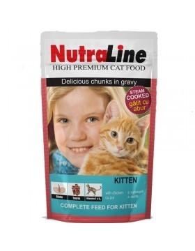 Nutraline Cat Plic Classic Kitten 100 g 0