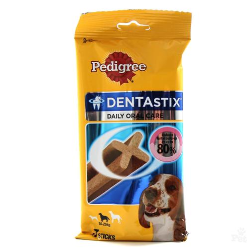 Pedigree Dentastix Talie Mediu 7 buc, 180g 0