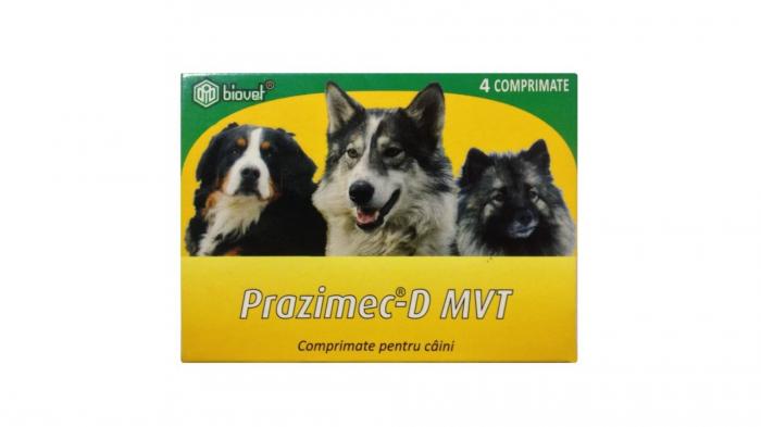 Prazimec-D MVT, 4 comprimate 0