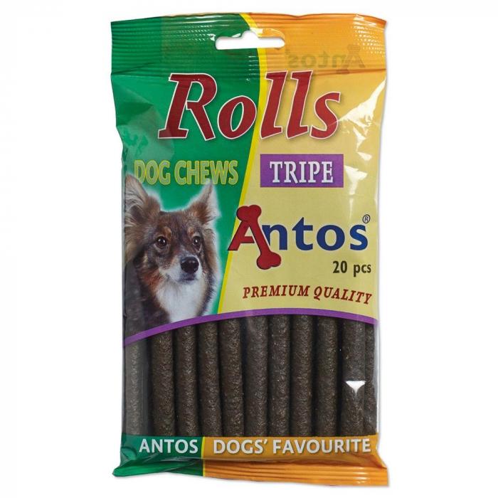 Recompense pentru caini Antos Rolls Tripe 20 bucati 0