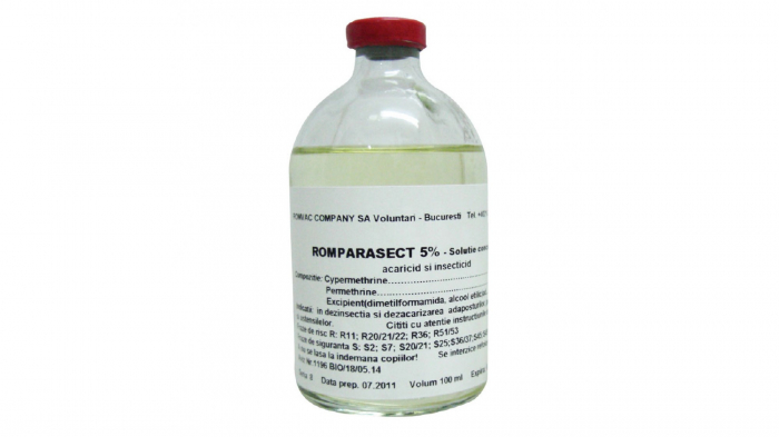 ROMPARASECT 5 % Solutie concentrata 100 ml [0]