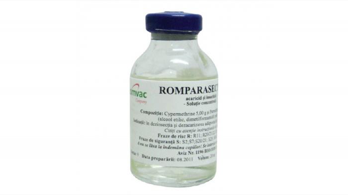 ROMPARASECT 5 % Solutie concentrata 20 ml [0]