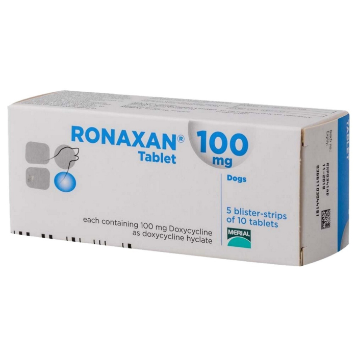 Ronaxan 100 mg/ 10 tablete 0