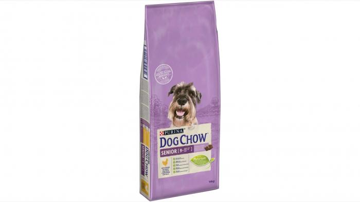 Dog Chow Senior cu Pui 14 kg 0
