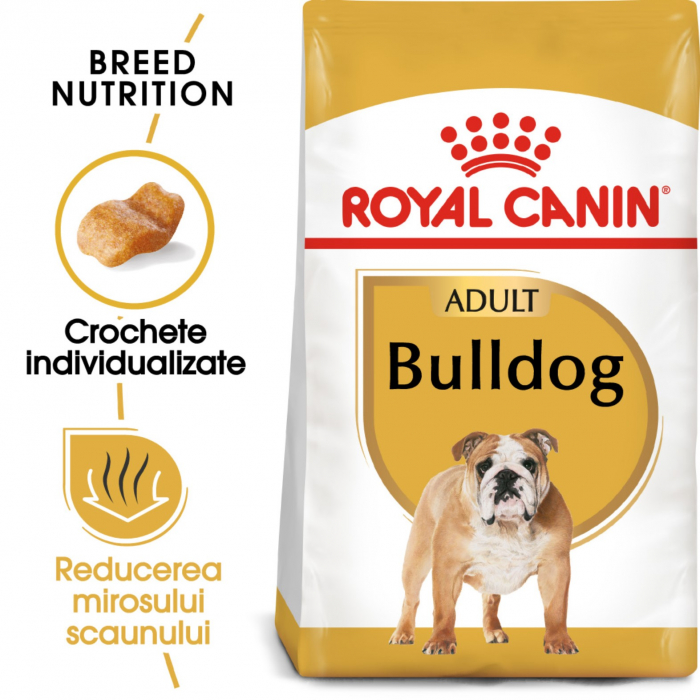 Royal Canin Bulldog Adult 12 kg 0