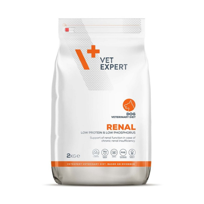 4T Veterinary Diet Renal Dog Pui, 2 Kg 0